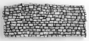 Weathered Rock Wall Mold 300x140